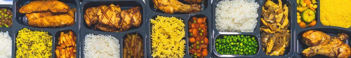 קומפוזיציה של כל חמגשיות המזון ממבט על - הכל ללא גלוטן ומוכן למשלוח!